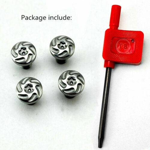 Durable Custom CNC Stainless Steel Screws Bolt with T8 Torx Keys for 1911 Grips