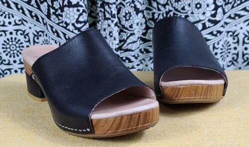 Dansko Women's Maci Leather Slide Open Toe Sandal