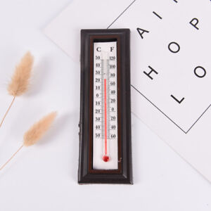 Indoor-Outdoor-Wall-Office-Laboratory-Home-Garage-Temperature-Thermometer-BB