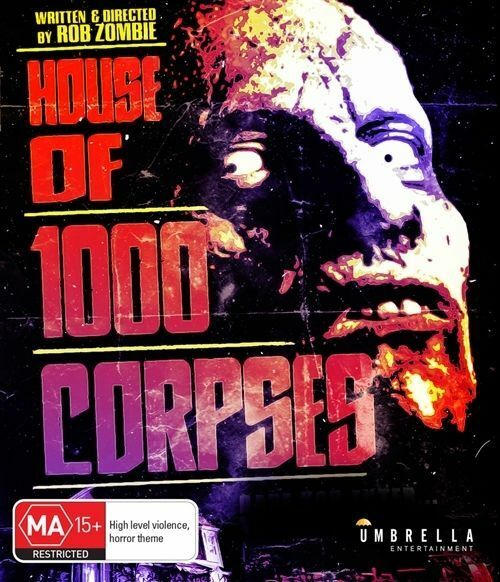 House Of 1000 Corpses (DVD, 2003) Sid Haig R4.