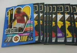 2020-21-Match-Attax-UEFA-Champions-Lot-of-20-cards-incl-100-club-Pogba