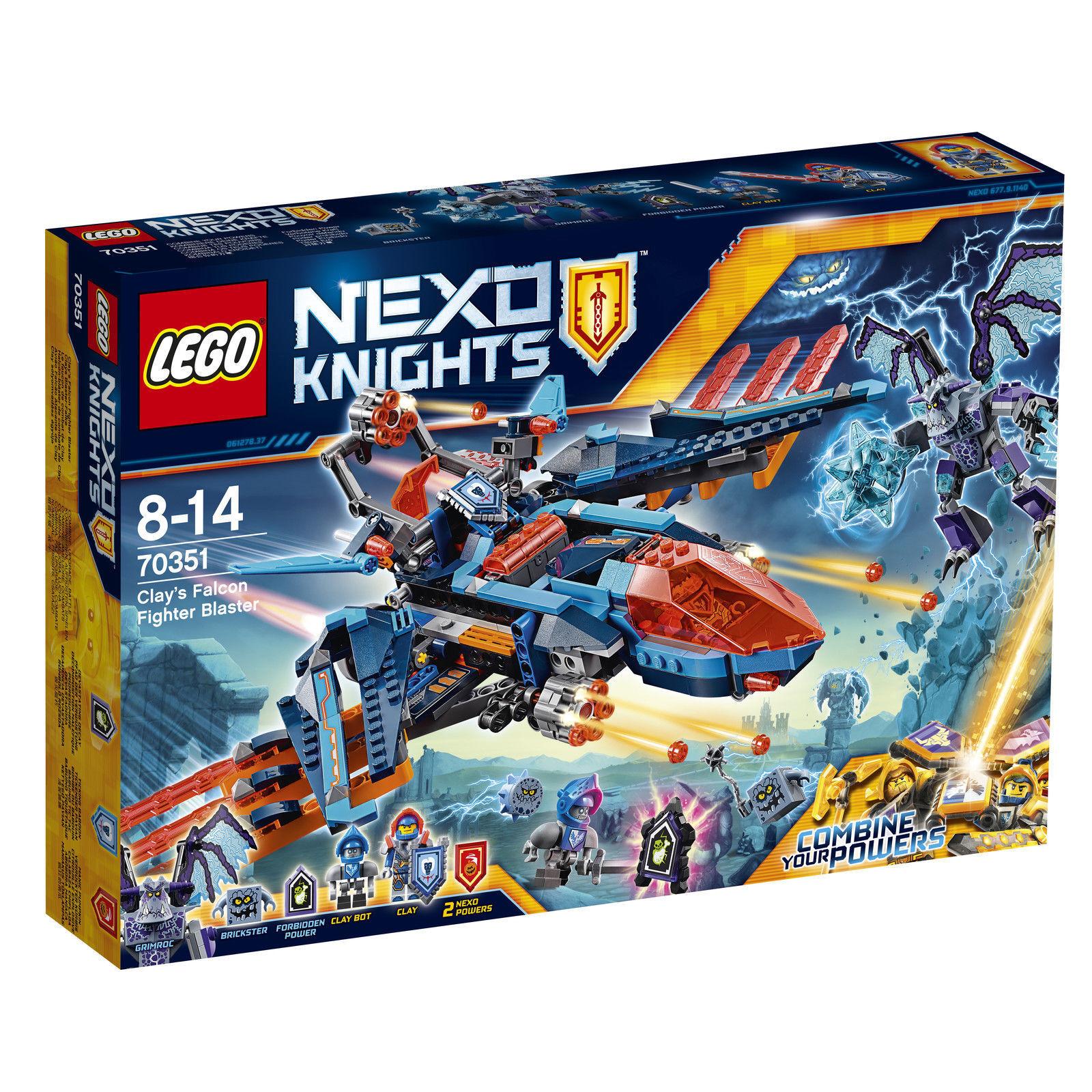 LEGO NEXO KNIGHTS KNIGHTS KNIGHTS Clays Blaster-Falke (70351) NEU   OVP c2203b