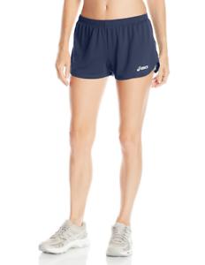 Asics-Training-1-2-Split-Break-Through-Running-Short-Liner-Women-039-s-Small-TF2354