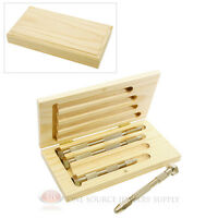 4 Swivel Head Pin Vise Set Assorted Lengths Drilling Tool Wire Work Jewelry