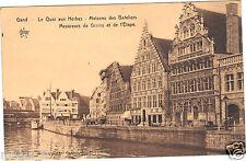Belgique - GAND - Le quai aux Herbes