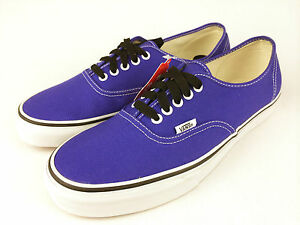 e17496be32 VANS. AUTHENTIC Men s or Women s PURPLE Canvas Shoes. Sizes  Mens US ...