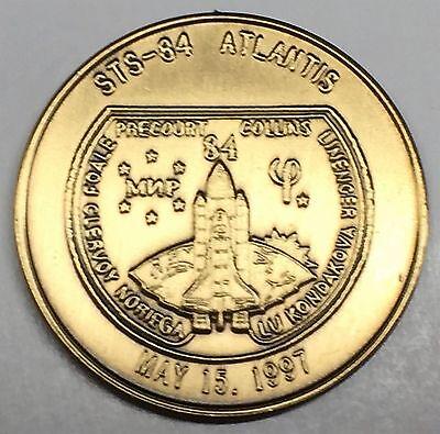 STS-129 MEDAL ATLANTIS N129      NASA  SPACE  SHUTTLE    COIN