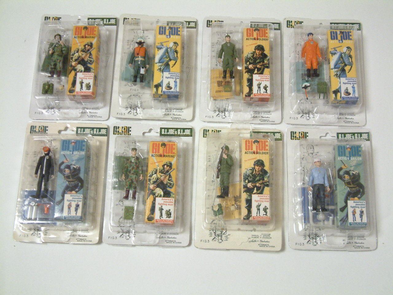 G.I. Joe 40th aniversario TAKARA LTD 2004 1 35 todas las ocho variedades CO completado