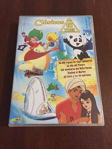 CLASICOS-TOEI-ISLA-DEL-TESORO-SIMBAD-EL-MARINO-ALI-BABA-5-DVD-362-MIN-DIVISA