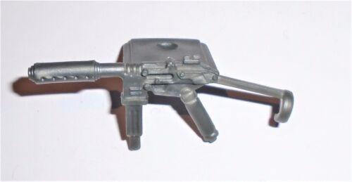 GI Joe Accessoire 2003 SGT HACKER Sound attaque Silver Sub Machine Gun