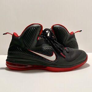 Nike Lebron 9 IX Mens Sz 11 Black/White