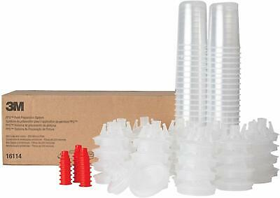 Plugs 3M-16114 PPS Mini Size Kit with 200 µ Filter 50 Lids 50 Liners