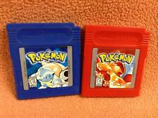 Pokemon Blue & Red *Authentic* Nintendo Game Boy Color Games Super SAVES!