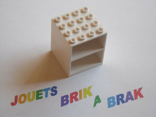 Lego Homemaker Cupboard 4x4 x4 with Door Holder Holes choose color ref 837 2