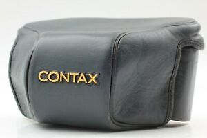 【Excellent+++++】Contax gc111 & gc110 Leather Case for Contax G1 From Japan #672