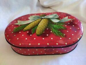 Scatola Latta Biscotti Natale.Scatola In Latta Caramelle Vintage Motta Natale Ebay
