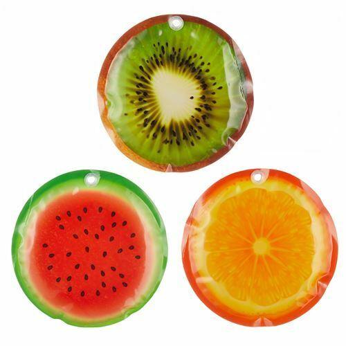 Kühlpad refrigeración batería 3er-set frutos