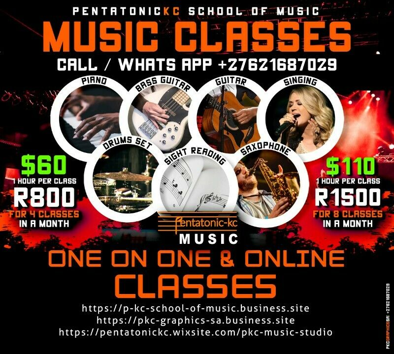 Bass Guitar Class (ONLINE or AT OUR STUDIO)