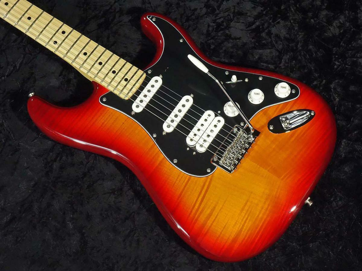 Fender Mexico Player Stratocaster HSS Plus Top Maple Fingerboard Aged EMS F S