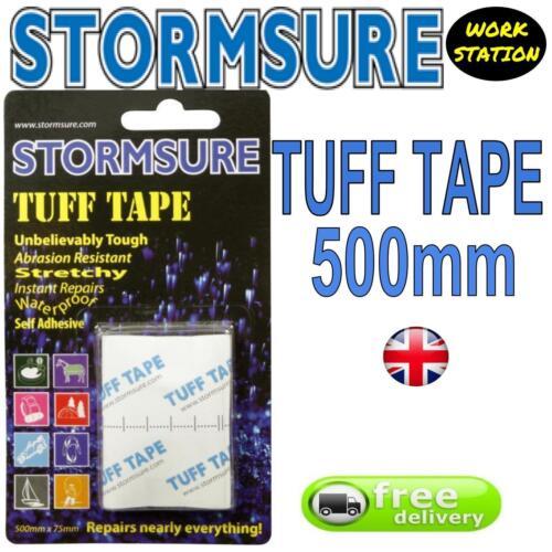 TUFF TAPE self adhesive Instant Waterproof repair Tape 75x500mm Tent Boot wader