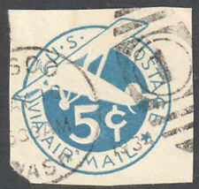 SC#UC1 - 5c Air Mail Cut Square Used