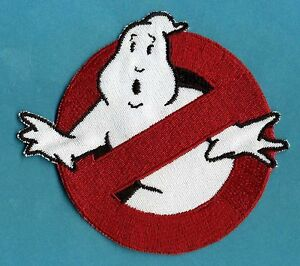 Ghostbusters-1-style-No-Ghost-Embroidered-Patch-w-hook-backing