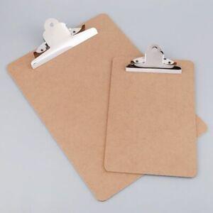 A4//A5 Aluminum Alloy Writing Clip Board Antislip File Hardboard Paper Holder