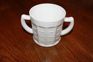 Hazel-Atlas-Milk-Glass-Block-Optic-Sugar-Bowl-2-Handled-hazel-atlas-marked