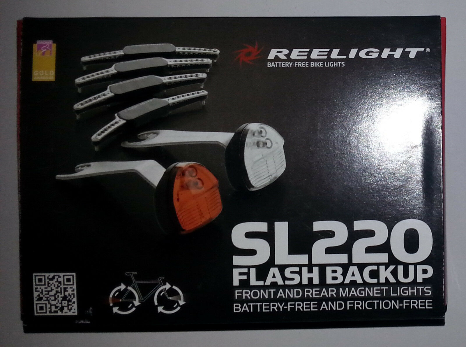Reelight SL220 LED Bike Bicycle Cycling Front Head Rear Tail Lamp Light Set