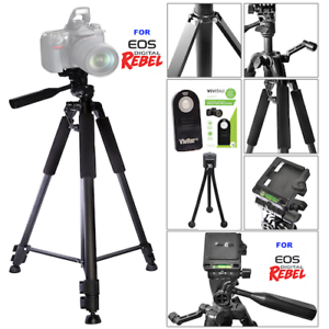 Gadget Place Lightweight Tabletop Tripod for Canon Rebel T5 EOS 1200D