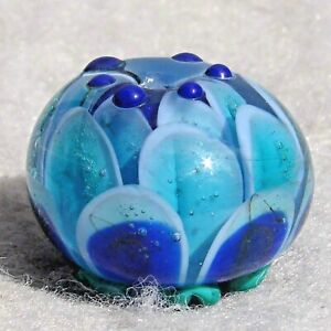 PETAL-EXTREMITY-2-Handmade-Glass-Focal-Bead-Flaming-Fools-Lampwork-Art-Glass