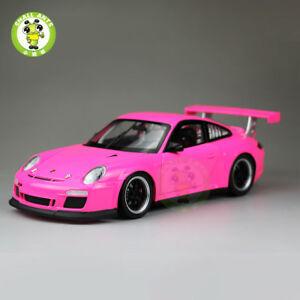1-18-Welly-Porsche-911-GT3-Diecast-Metal-Car-Model-Toy-Gift