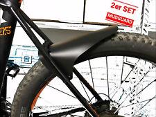 如2x Mudguard Fender Spritzschutz Mudguard Schutzblech MTB/'s Fahrrad E-bike Vorne