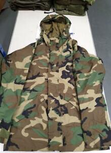 Genuine-US-Army-M81-BDU-Woodland-Camouflage-ECWCS-ECW-Goretex-Parka-Smock-Coat