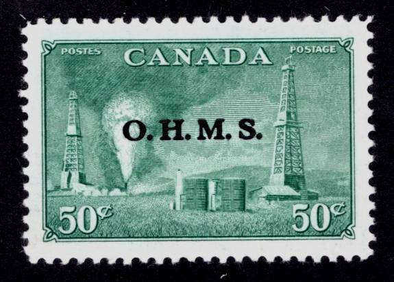 Canada ~ Overprint Official ~ Scott # O11 ~Mint Never Hinged ~ MNH