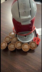 Nescafe Dolce Gusto Mini Me Automatic Coffee Pod Machine With A Few Pods