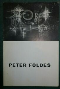 Peter-FOLDES-Galerie-La-Bussola-Turin-1960-texte-de-Denys-Chevalier-signe