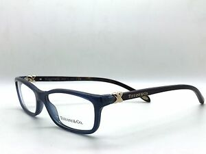 Tiffany-Co-TF-2036-Eyeglasses-Frames-Blue-Gold-Brown-8099-Authentic-54mm-5232