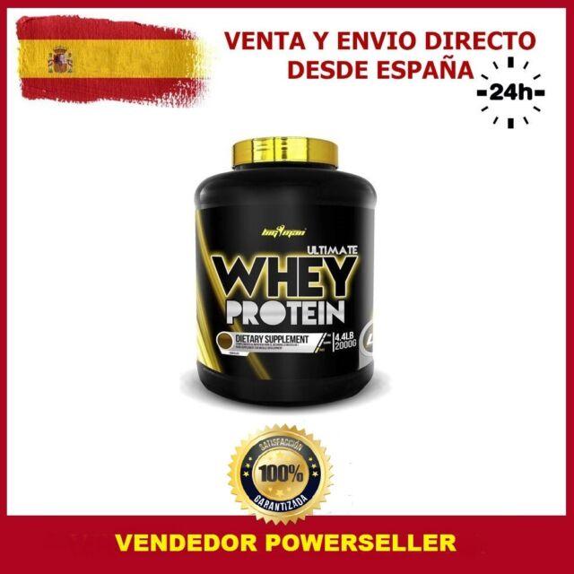 Ultimate whey protein 2 kg sabor cookies - bigman proteinas