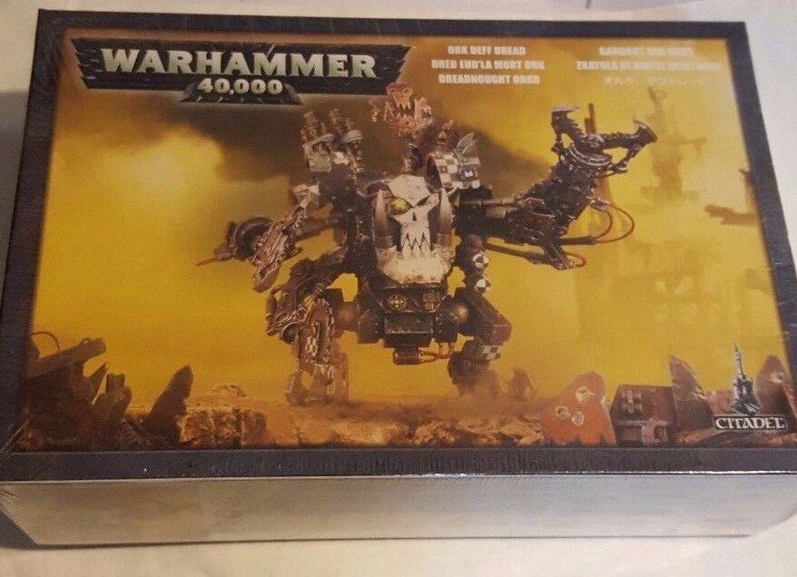 Games Workshop Warhammer 40K Ork Deff Dread (50-14) - SEALED BOX