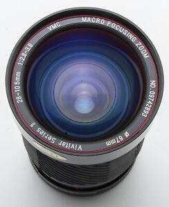Vivitar-Series-1-28-105mm-28-105-mm-2-8-3-8-VMC-Macro-Focusing-Zoom-Canon-FD