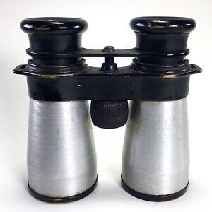 BUSCH-Binoculars-40mm-D-R-P-Brass-Aluminum-Vintage
