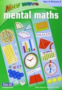 NEW-WAVE-MENTAL-MATHS-YEAR-4-PRIMARY-5-by-Unknown-Binding-Book-9781846544