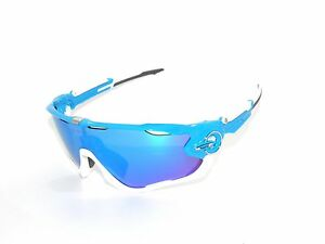 a3b58b55e2 Image is loading OAKLEY-SUNGLASSES-9290-02-JAWBREAKER-SKY-SAPPHIRE-IRIDIUM