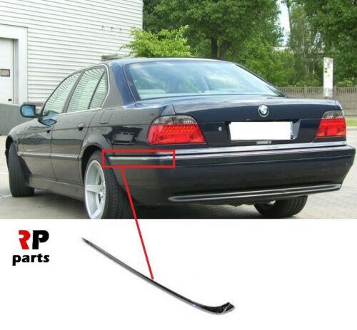 FOR BMW 7 SERIES 94-01 E38 NEW REAR BUMPER CHROME MOLDING TRIM LEFT N//S