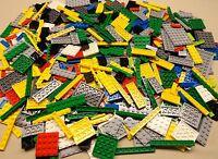 Lego Lot 500 Brand Pcs Baseplates Tile Mixed Bulk Parts W/ Minifig & Acc.