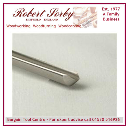 ROBERT SORBY 8401//4/'/' Spindle Gouge 1//4/'/'