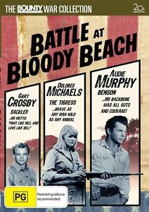Battle-At-Bloody-Beach-Gary-Crosby-amp-Dolores-Michaels-amp-Audie-Murphy-DVD