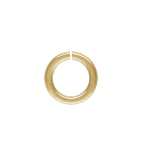 14k Gold Filled 18ga 7mm Open Jump Rings 10pcs  #6532-7