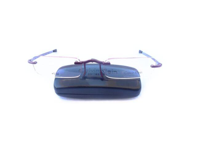 Calvin Klein Folding Reading glasses Model CR1